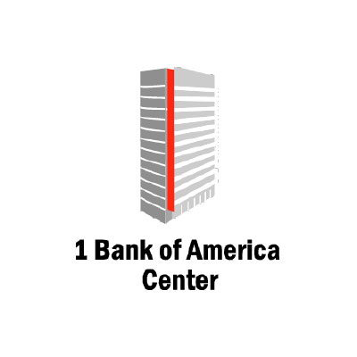 1 Bank of America Center Logo