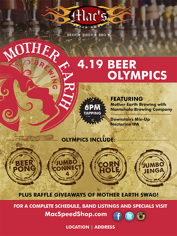 Macs Beer Olympics