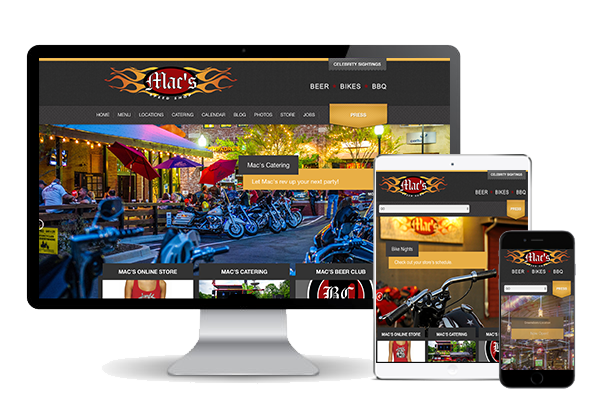 Mac's Speed Shop website