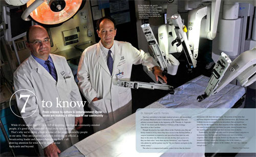 Urology Specialists of the Carolinas in University Magazine